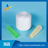 Virgen el 100 por ciento de hilado hecho girar poliester 40/2 fábrica brillante de los hilados de polyester de la calidad de Tfo de la fibra de China