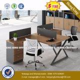 2 sièges forme de L'Office de station de travail du personnel de cluster de partition (HX-8N2640)