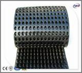 Tarjeta Geomembrane del drenaje del hoyuelo de HDPE/HIPS para el campo de fútbol