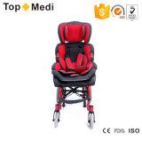 Sedie a rotelle di alluminio registrabili del blocco per grafici di angolo di sede di Topmedi Trw258lbygp per le sedie a rotelle Disabled del bambino per i bambini di paralisi cerebrale