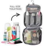 Beweglicher kundenspezifischer großer kompakter hängender Toilettenartikel-Beutel für Mann-Arbeitsweg-Geschäfts-Ferien-Haushalt