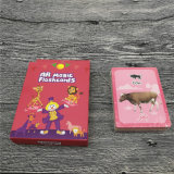 Kaarten van het Kaartspel van de Speelkaarten van het Ontwerp van de douane de Onderwijs voor Jonge geitjes
