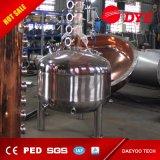 Destilador comercial del vino del acero inoxidable, depósito de fermentación