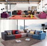 sofa Factory (F811B)의 다채로운 직물 소파 생성