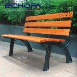 自然な公園のベンチの庭の家具の木の庭のベンチおよび椅子の屋外の前ドアのベンチ
