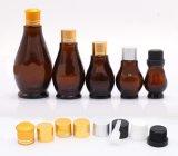 Botellas de cristal de los nuevos cosméticos cosméticos del envase (NBG07)
