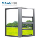 高品質によって陽極酸化されるアルミニウム6063-T5アルミニウムWindowsおよびドア(AAG0001)