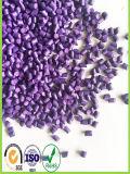 Colore viola Masterbatch di prezzi di plastica della materia prima dell'HDPE