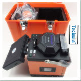 Splicer Tcw-605 da fibra da fusão de Techwin com tecnologia dePosicionamento especial