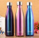 Склянка вакуума Thermos чашек цацы нержавеющей стали качества бутылок перемещения спортов воды колы устанавливает подарок промотирования