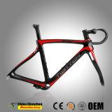 700c carbon T1000 da estrutura de Bicicletas de estrada com Handbarsets Carbono
