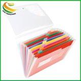 Plusieurs poches en plastique personnalisée l'élargissement de dossier de fichiers