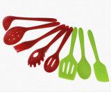 Инструмент кухни силикона продуктов ложки силикона Kitchenware Eco Friednly изготовленный на заказ резиновый