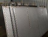 베개 격판덮개에 의하여 돋을새김되는 디자인 스테인리스 격판덮개 열 교환 건조판