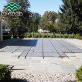 Высокое качество Китая оптовое затавренное всеобщий полипропилен 100% зеленого цвета Анти--UV крышка безопасности сетки для бассеина и СПЫ