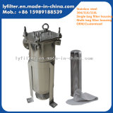 """Huisvesting van de Filter van de Zak van het Netwerk van de Tank van het roestvrij staal 2 """"Flens voor Industrie van het Voedsel"""
