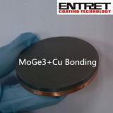 Alvo de carbono de colagem de alta qualidade com placa de cobre