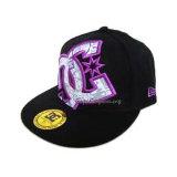 新しく平らな縁の帽子、Hip Hopの帽子(JRN014)