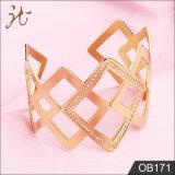 Señora brillantes joyas con estrás bien Bangle Bracelet ob171