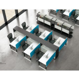 4 Seats Desk front screen Metal Frame modular Office Furniture workstation