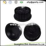 Disipador de calor de aluminio redondo de la fábrica para el radiador del LED