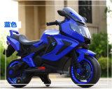Conduite électrique de gosses de véhicule de jouets d'enfants de moto sur la motocyclette