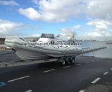 Liya 8.3m中国深いVの外皮のガラス繊維の堅く膨脹可能なボート