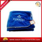 刺繍のロゴ毛布の羊毛ポリエステル