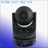 4in1 6PCS 30W LED Summen-Wäsche-bewegliches Hauptstadiums-Licht
