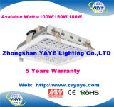 Yaye 18 Meanwell/の熱い販売法Ce/RoHS 150W LEDの給油所ライト保証5年のかBridgelux