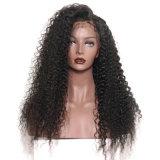 Dlme 편리한 긴 까만 꼬부라진 합성 머리 가발