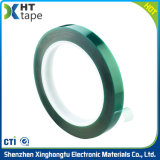 L'isolation haute température vert Pet de la galvanoplastie du ruban adhésif de protection