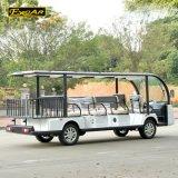 Шина 11 Seater электрическая Sightseeing с коробкой алюминия багажа