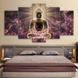 Hoher Definition-Buddha-Farbanstrich, Ölgemälde-Kunst, Drucken, Wohnzimmer-Dekoration, senden freien Druck/Segeltuch