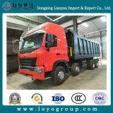 필리핀에 있는 HOWO A7 8X4 420HP 덤프 트럭 최신 인기 상품