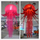 Balão de suspensão das medusa infláveis do diodo emissor de luz para a decoração C2008