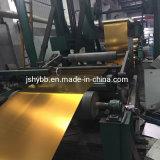 Goldfarben-Zinnblech-Blatt lackierte Zinnblech-Ring für leere Blechdosen
