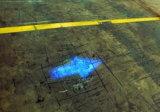 9-80V de color azul brillante LED de luz de seguridad de la carretilla elevadora con haz de flechas