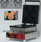 Коммерческие мультфильм Микки вафель/машины для приготовления вафель с маркировкой CE