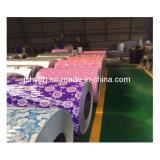 中国からの美しい花デザインPPGI鋼鉄コイル