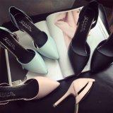 Nouvelle plate-forme de la mode sexy High Heels Femmes Chaussures en cuir