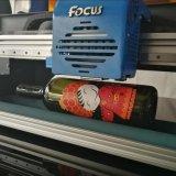 Принтер Inkjet разливает UV печатную машину по бутылкам для керамических плиток