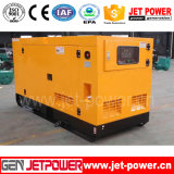 générateur diesel insonorisé portatif de remorque électrique de pouvoir de 10kw 20kw 30kw