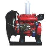 火の水ポンプ一定4108QAのための103HP 76kwの消火活動装置4シリンダーディーゼル機関