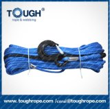 corda de fio elétrica da grua da polia da corda da fábrica 21000lbs de 10mmx28m que puxa a corda elétrica do guincho
