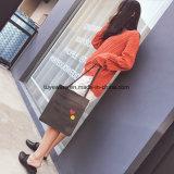 연약한 PU 쇼핑 백 바느질 여자 끈달린 가방 (TTE-010)