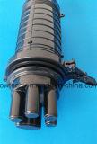 Caixa comum do fechamento impermeável da tala da fibra óptica da abóbada