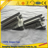 Perfil de aluminio del CNC para la puerta