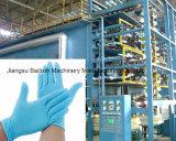 Color personalizado Medical guante de látex Línea de producción de maquinaria de guantes Venta caliente
