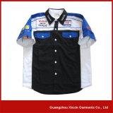 Squadra di pozzo della squadra dei migliori uomini automatici di vendita della motocicletta che corre le camice (S56)